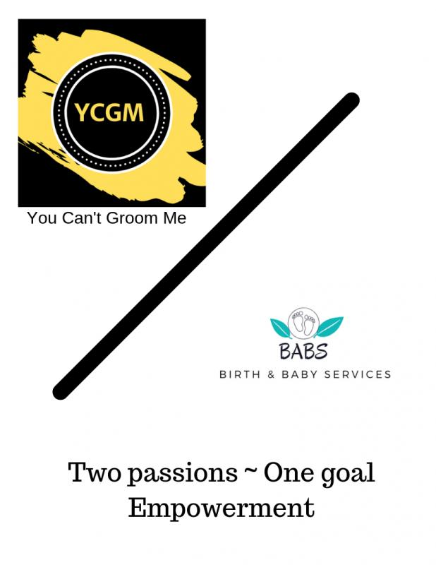 You Cant Groom Me Incorporated Logo