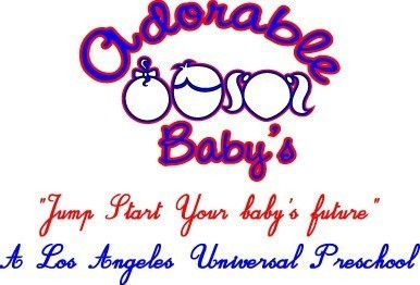 "ADORABLE BABY'S ""JUMP START"" Logo"