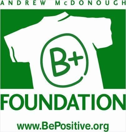 The Andrew McDonough B+ Foundation Logo