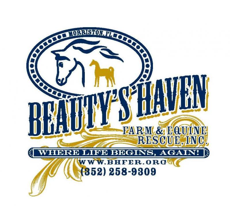 Beauty's Haven Farm and Equine Rescue, Inc. Logo
