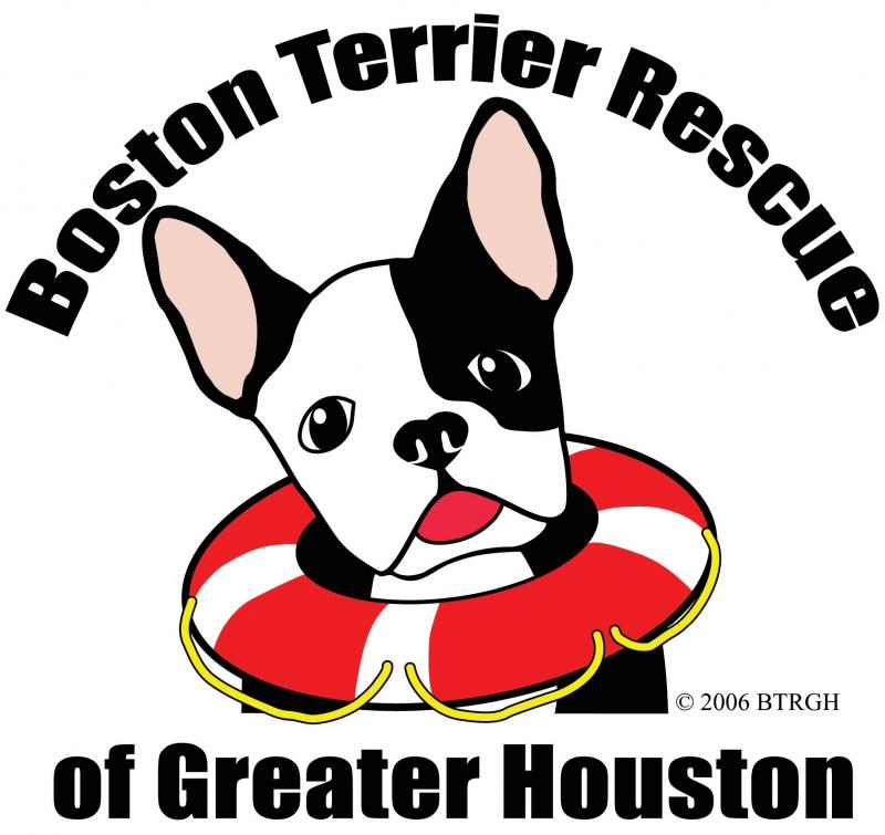 Boston Terrier Rescue of Greater Houston Logo