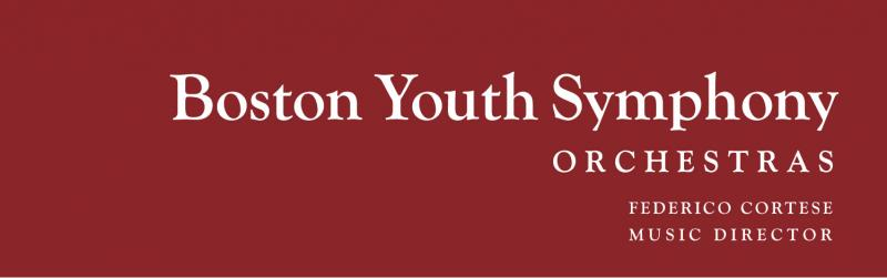 Boston Youth Symphony Orchestras, Inc. Logo