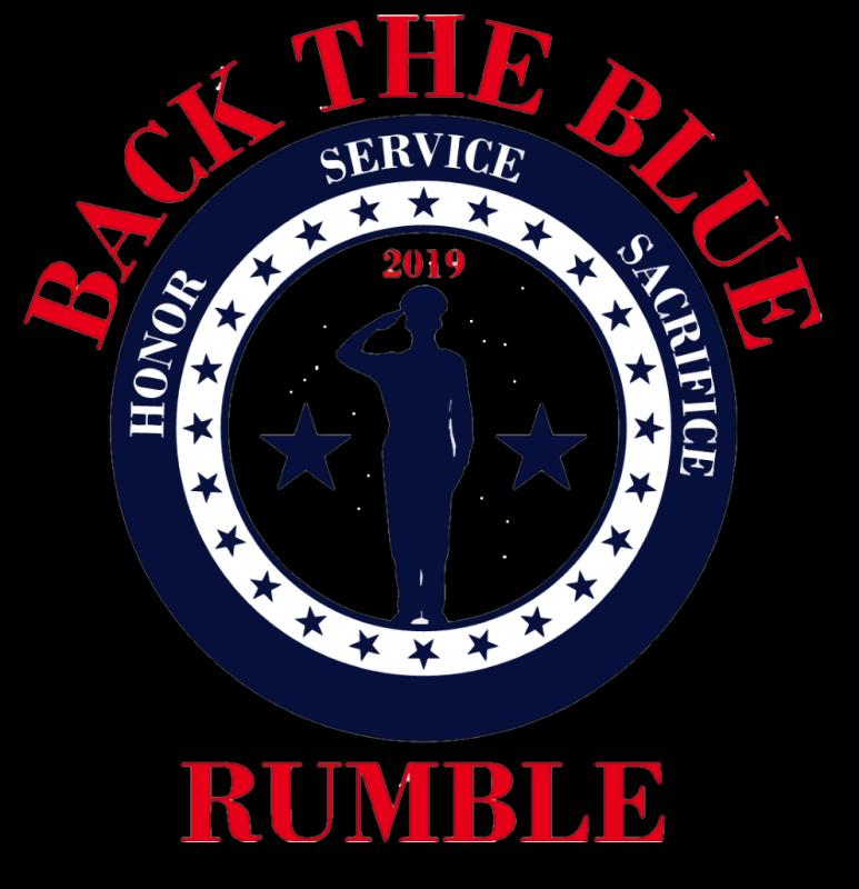Back The Blue Rumble Logo