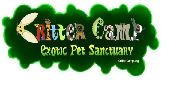 Critter Camp Exotic Pet Sanctuary Logo