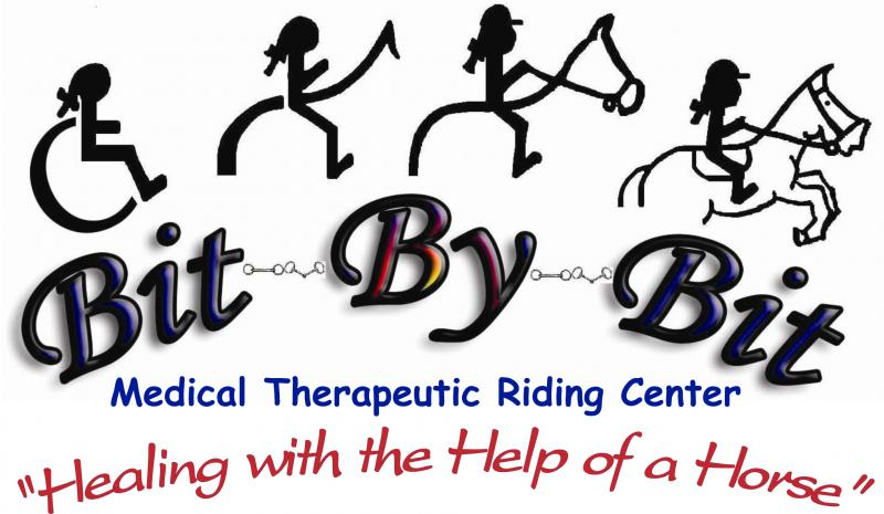 Bit-By-Bit Medical Therapeutic Riding Center Logo