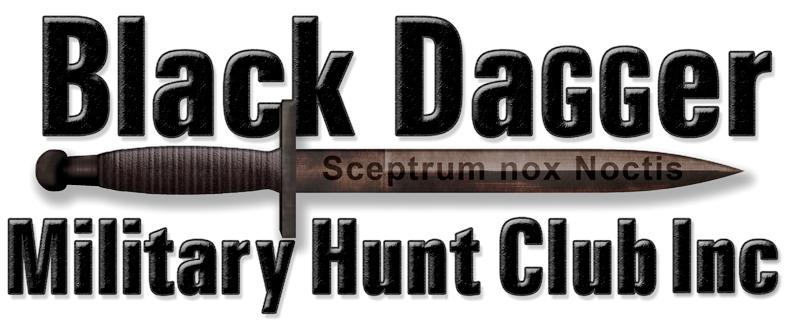 Black Dagger Military Hunt Club Inc. Logo