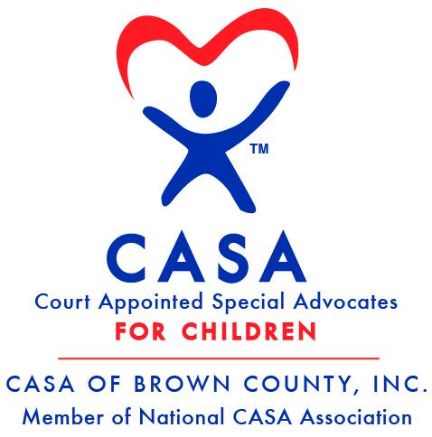 CASA (Court Appointed Special Advocates) of Brown County Logo