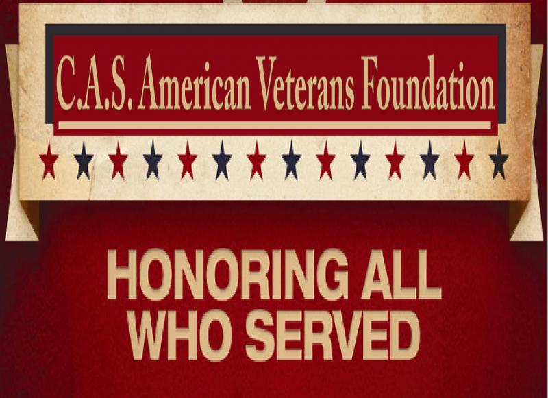 C A S AMERICAN VETERANS FOUNDATION INC Logo
