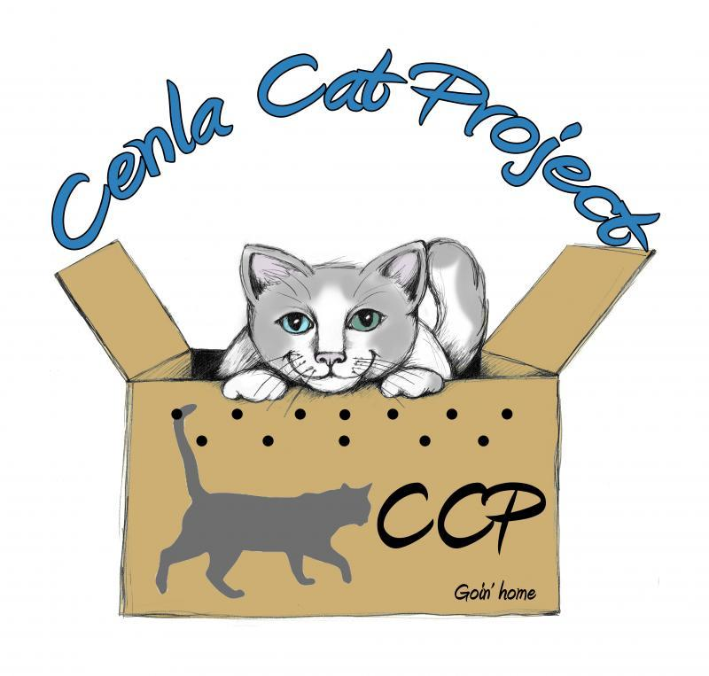 Cenla Cat Project Logo