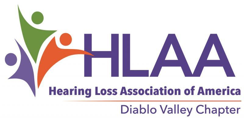 Hearing Loss Association of America-Diablo Valley Chapter Logo