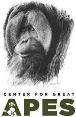 Center For Great Apes Logo