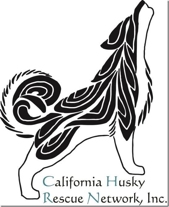 California Husky Rescue Network Inc. Logo