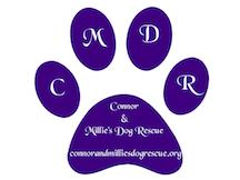Connor and Millies Dog Rescue CMDR Logo