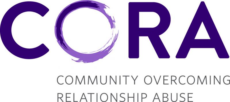CORA - Community Overcoming Relationship Abuse Logo
