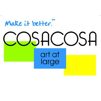 COSACOSA art at large, Inc. Logo
