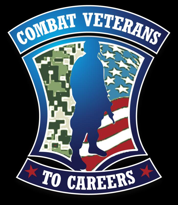 Combat Veterans To Careers Logo