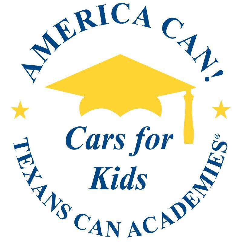 Texans Can - Cars for Kids Logo