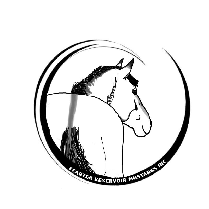 Carter Reservoir Mustangs Inc Logo