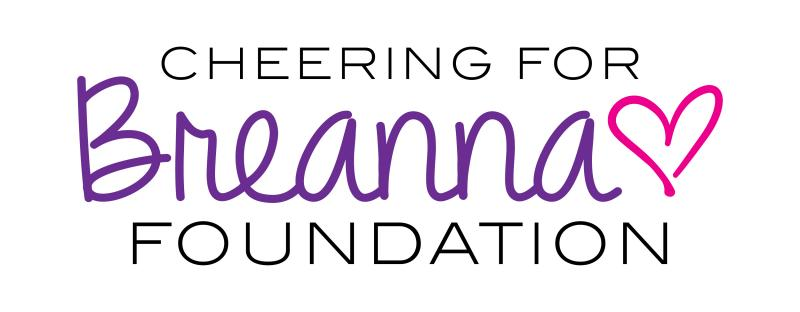 Cheering for Breanna Foundation Logo