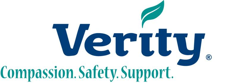 Verity ~ Compassion.Safety.Support. Logo