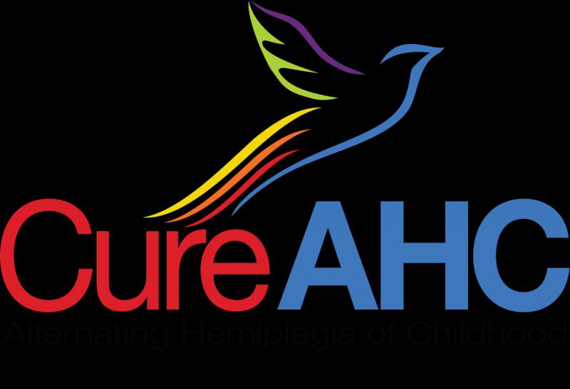Cure AHC- Alternating Hemiplegia of Childhood Logo