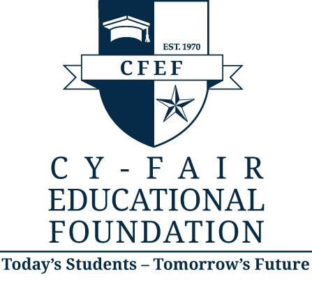 CYPRESS FAIRBANKS EDUCATIONAL FOUNDATION / Cy-Fair Educational Foundation Logo