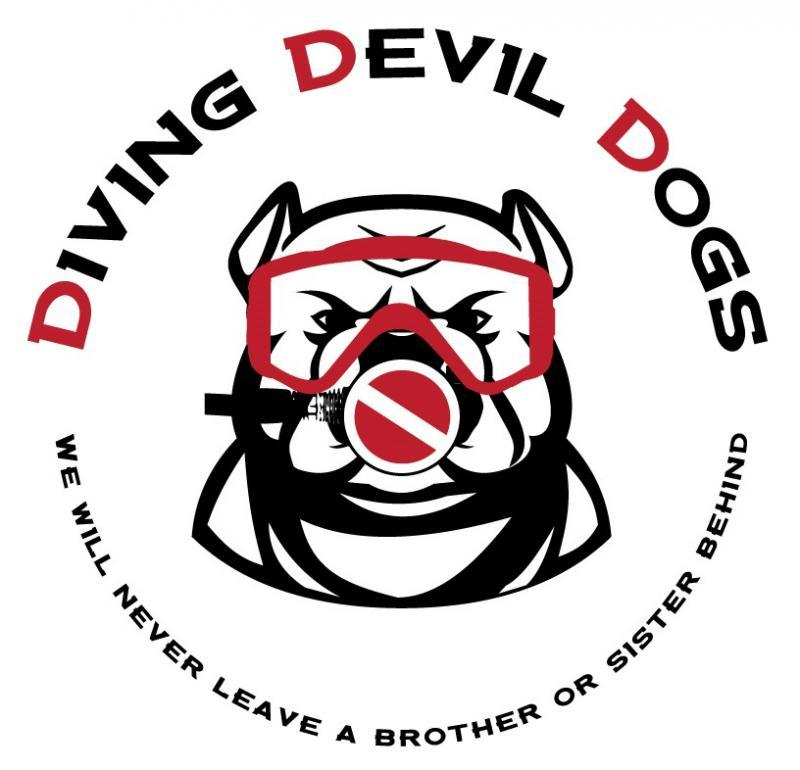 Diving Devil Dogs Of Arizona Logo
