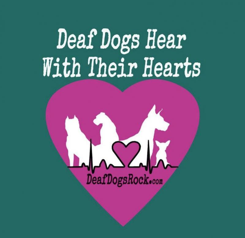 Deaf Dogs Rock Inc Logo
