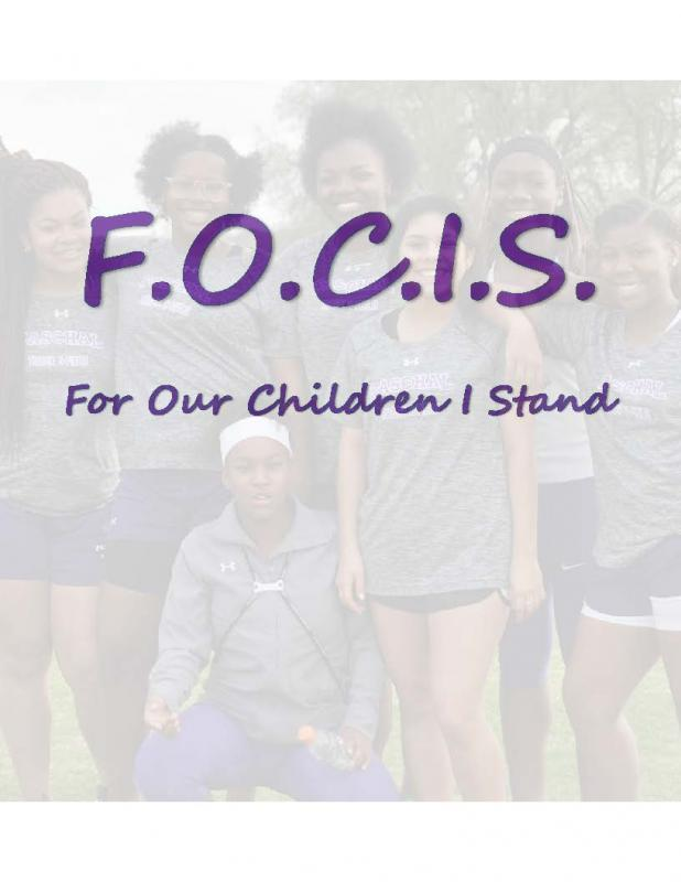 FOR OUR CHILDREN I STAND F.O.C.I.S Logo