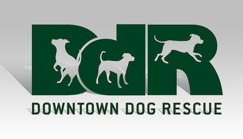 Downtown Dog Rescue Logo
