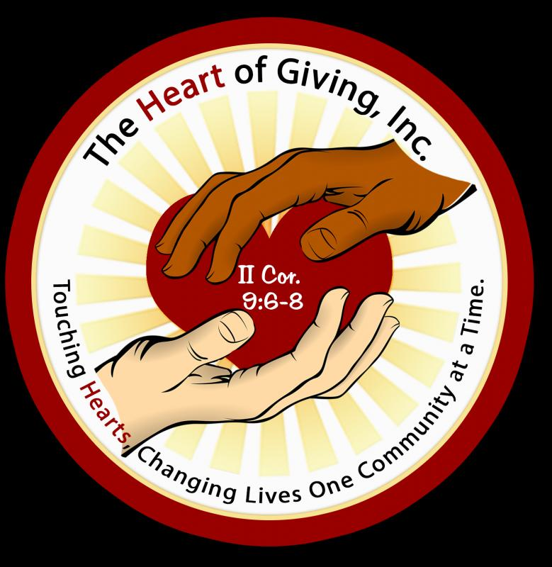 THE HEART OF GIVING, INC Logo
