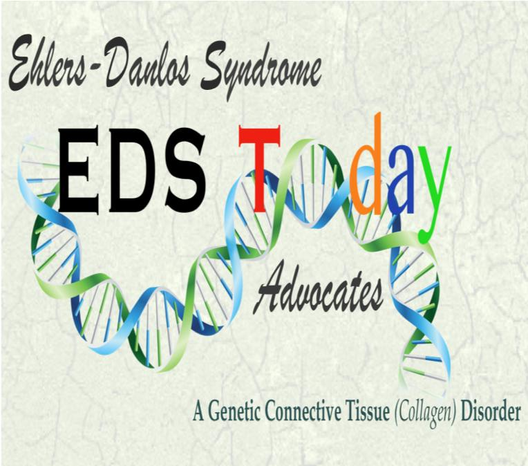 EDS TODAY ~ Ehlers-Danlos Advocates Logo