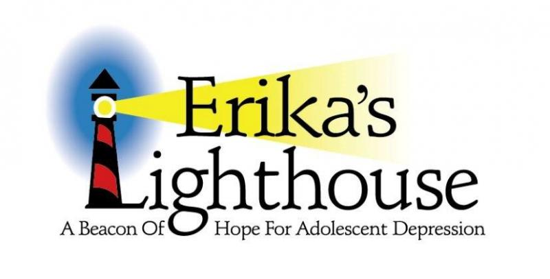 Erika's Lighthouse: A Beacon of Hope for Adolescent Depression Logo