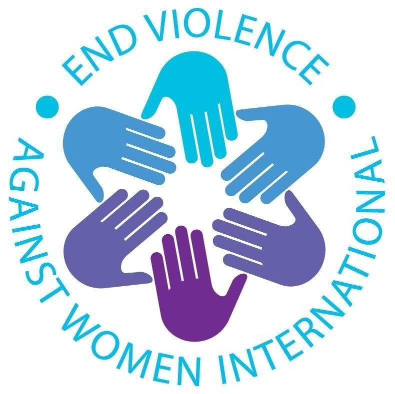 End Violence Against Women (EVAW) International Logo