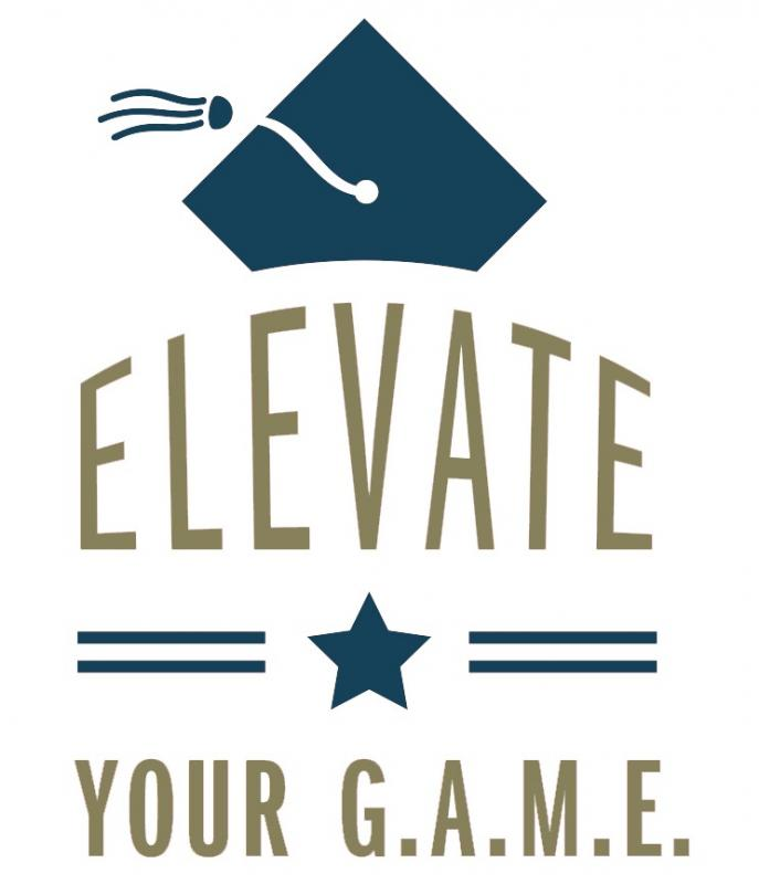 Elevate Your G.A.M.E. (EYG) Logo
