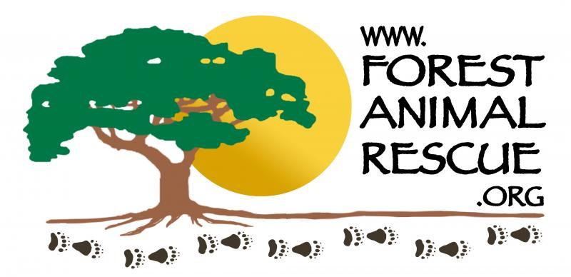 Forest Animal Rescue by Peace River Refuge & Ranch Logo