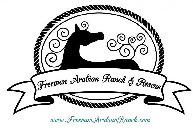 Freeman Arabian Ranch And Rescue Logo