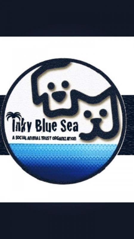 Inky Blue Animal Rescue Logo