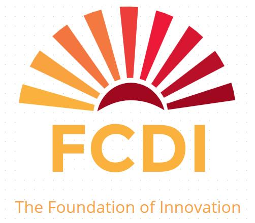 Foundation for Community Driven Innovation, Inc. (FCDI) Logo