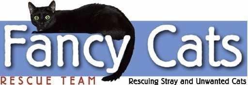 Fancy Cats Rescue Team Logo