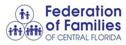 Federation of Families of Central Florida Inc. Logo
