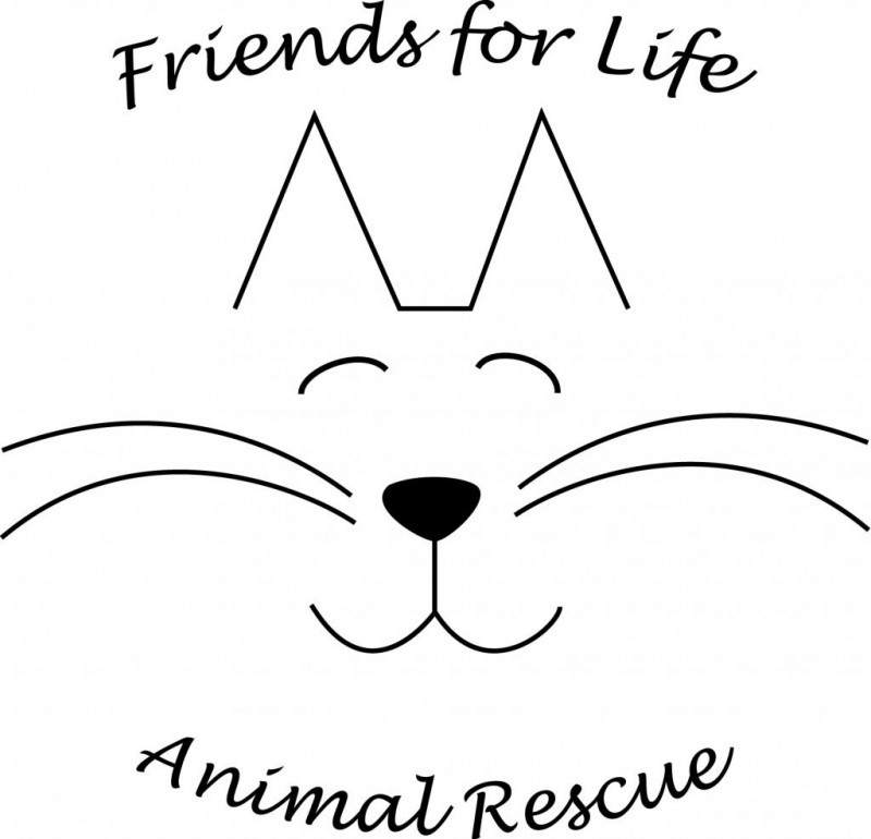 FRIENDS FOR LIFE ANIMAL RESCUE Logo