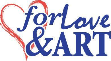 For Love and Art Logo