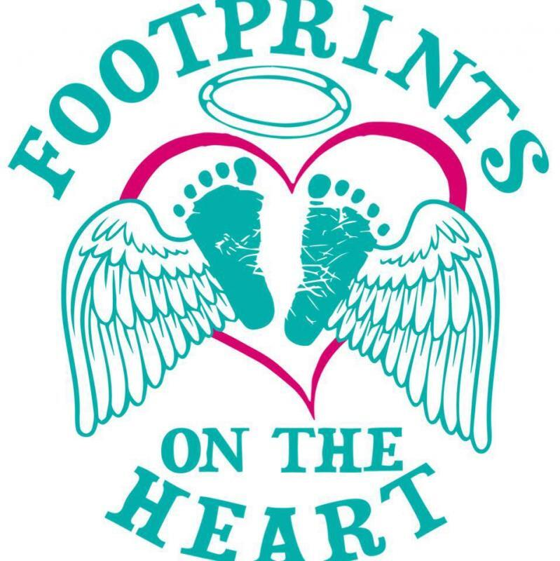 Footprints On The Heart Inc Logo