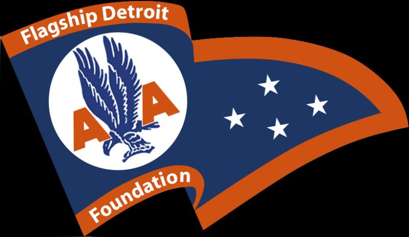 FLAGSHIP DETROIT FOUNDATION Logo