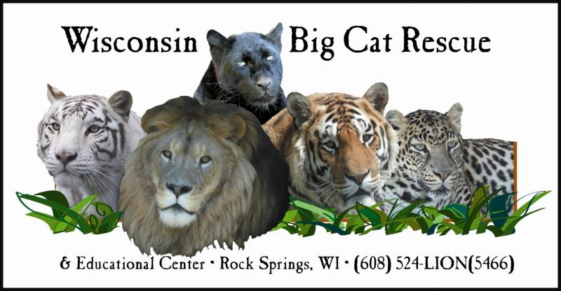 Wisconsin Big Cat Rescue and Educational Center Logo