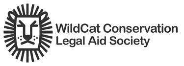 WildCat Conservation Legal Aid Society Logo