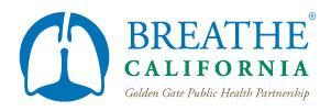 Breathe California Golden Gate Public Health Partnership Logo