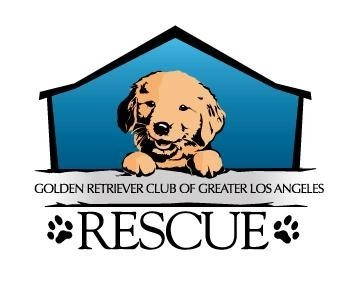 Golden Retriever Club of Greater Los Angeles Rescue Logo