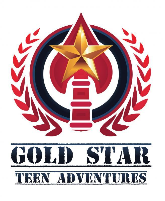 Gold Star Teen Adventures Logo